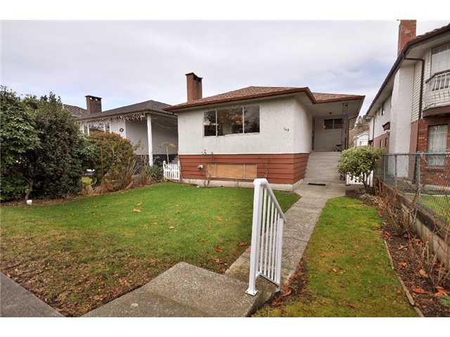 Main Photo: 145 E 38TH AV in Vancouver: Main House for sale (Vancouver East)  : MLS®# V863937