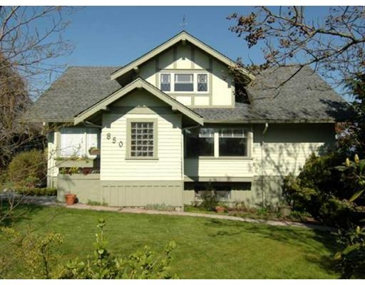 Main Photo: 850 HENDRY AV in North Vancouver: House for sale : MLS® # V884549