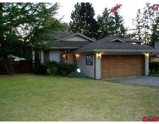 Main Photo: 14425 CHARTWELL Drive in Surrey: Bear Creek Green Timbers House for sale : MLS® # F2723591