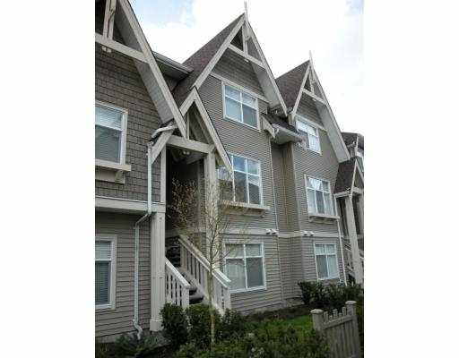"Main Photo: 59 7288 HEATHER Street in Richmond: McLennan North Townhouse for sale in ""BARRINGTON WALK"" : MLS® # V702202"