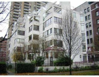 Main Photo: 503 1042 NELSON ST in Vancouver: House for sale (West End VW)  : MLS® # V622002
