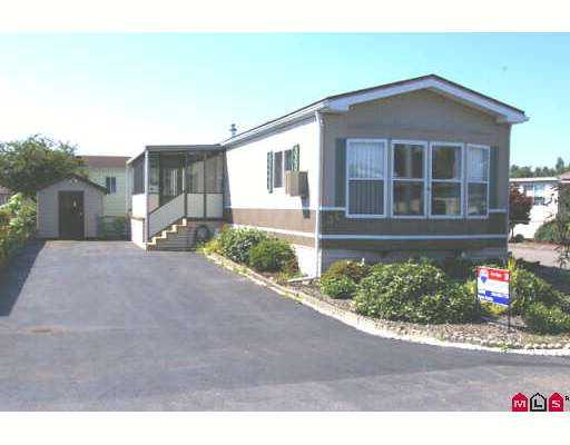 "Main Photo: 34 9055 ASHWELL Road in Chilliwack: Chilliwack  W Young-Well Manufactured Home for sale in ""RAINBOW COMMUNITY ESTATES"" : MLS® # H2703343"