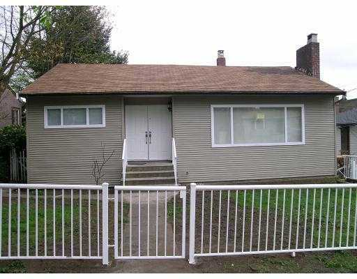 Main Photo: 1106 NANAIMO Street in New Westminster: West End NW House for sale : MLS(r) # V612919