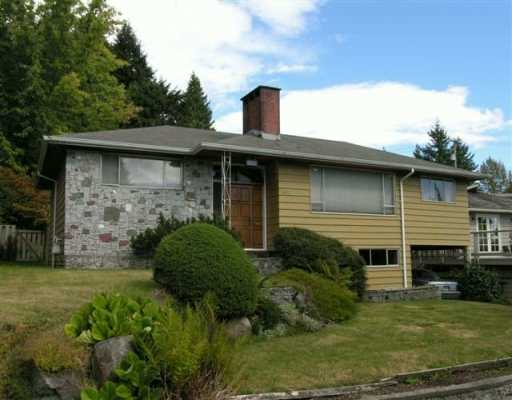 Main Photo: 4640 SKYLINE DR in North Vancouver: Canyon Heights NV House for sale : MLS(r) # V555304
