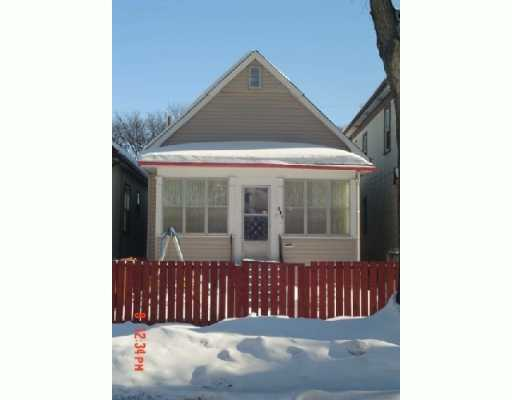 Main Photo: 941 INGERSOLL Street in WINNIPEG: West End / Wolseley Single Family Detached for sale (West Winnipeg)  : MLS® # 2701654