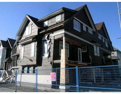 "Main Photo: 11 1211 EWEN Avenue in New_Westminster: Queensborough Townhouse for sale in ""ALEXANDER WALK"" (New Westminster)  : MLS® # V684795"