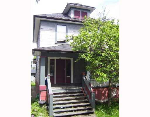 Main Photo: 723 E 11TH Avenue in Vancouver: Mount Pleasant VE House for sale (Vancouver East)  : MLS® # V714872