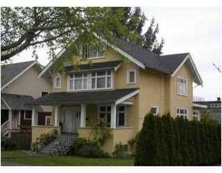 Main Photo: 247 W 14TH AV in Vancouver: House for sale : MLS®# V831596