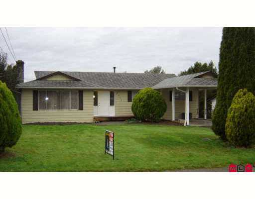 Main Photo: 2675 SPRINGHILL Street in Abbotsford: Abbotsford West House for sale : MLS® # F2726964
