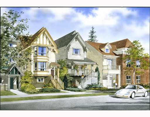 "Main Photo: 13 1211 EWEN Avenue in New_Westminster: Queensborough Townhouse for sale in ""ALEXANDER WALK"" (New Westminster)  : MLS®# V686703"