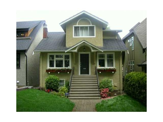 Main Photo: 3737 W22ND AVE in VANCOUVER: House for sale : MLS®# V897855