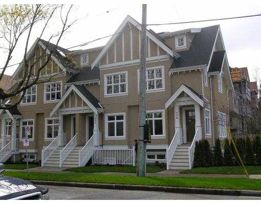 "Main Photo: 698 W 13TH AV in Vancouver: Fairview VW Townhouse for sale in ""HEATHER CROSSING"" (Vancouver West)  : MLS® # V581844"