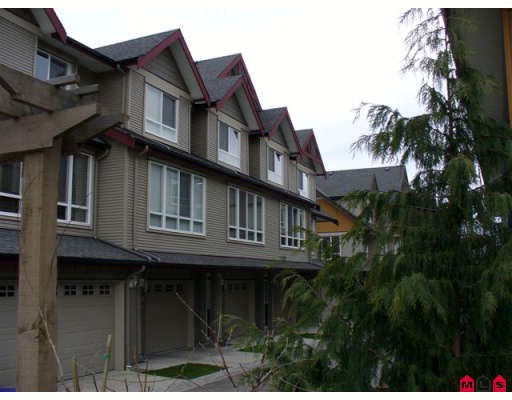 "Main Photo: 18 16772 61ST Avenue in Surrey: Cloverdale BC Townhouse for sale in ""Laredo"" (Cloverdale)  : MLS®# F2805561"