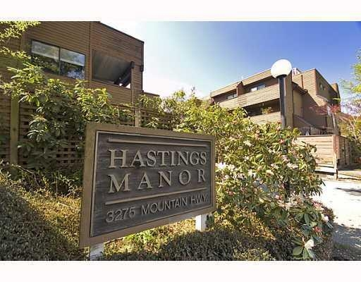 Main Photo: # 103 3275 MOUNTAIN HY in North Vancouver: Condo for sale : MLS®# V763634