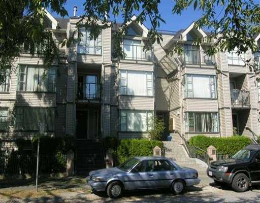 Main Photo: 3167 LAUREL ST in Vancouver: Fairview VW Townhouse for sale (Vancouver West)  : MLS® # V609907