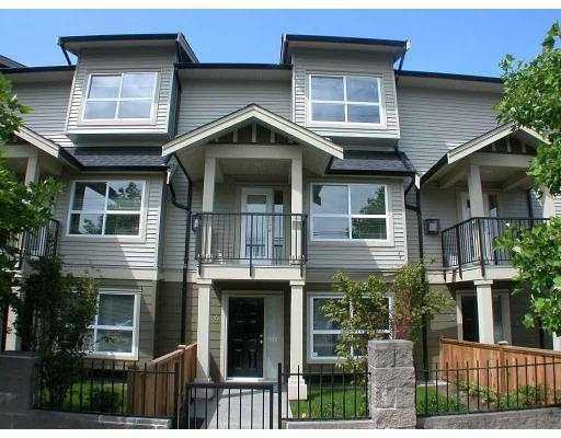 "Main Photo: 4 7833 GARDEN CITY Road in Richmond: Brighouse South Townhouse for sale in ""TRELLIAGE COURT"" : MLS(r) # V794632"