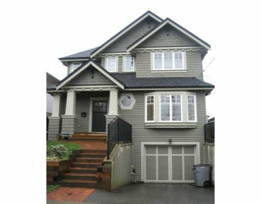 Main Photo: 4487 JOHN Street in Vancouver: Main House for sale (Vancouver East)  : MLS® # V633216