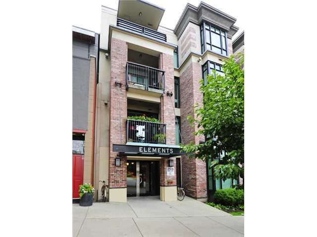"Main Photo: 219-2515 Ontario in Vancouver: Mount Pleasant VW Condo for sale in ""THE ELEMENTS"" (Vancouver West)"