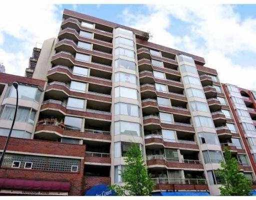 Main Photo: # 404 1330 HORNBY ST in Vancouver: Downtown VW Condo for sale (Vancouver West)  : MLS®# V695234