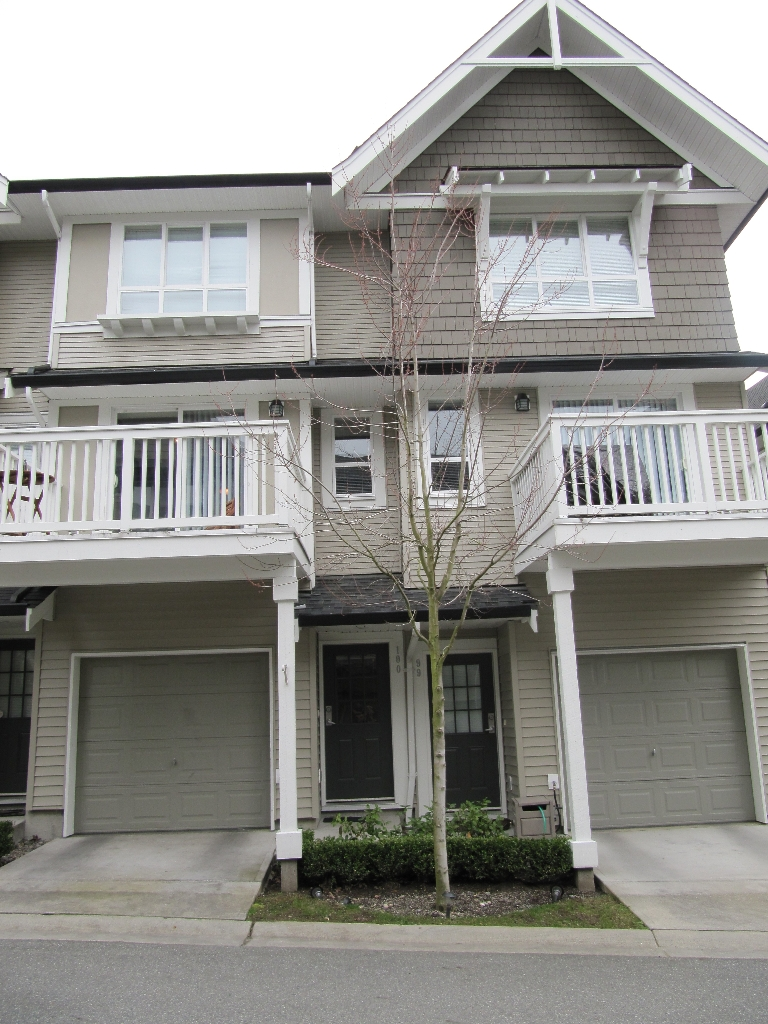 "Main Photo: 100 6747 203RD Street in Langley: Townhouse for sale in ""Willoughby Heights"" : MLS®# F1107665"