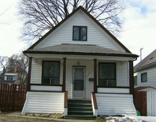 Main Photo: 326 ATLANTIC Avenue in Winnipeg: North End Single Family Detached for sale (North West Winnipeg)  : MLS(r) # 2604577