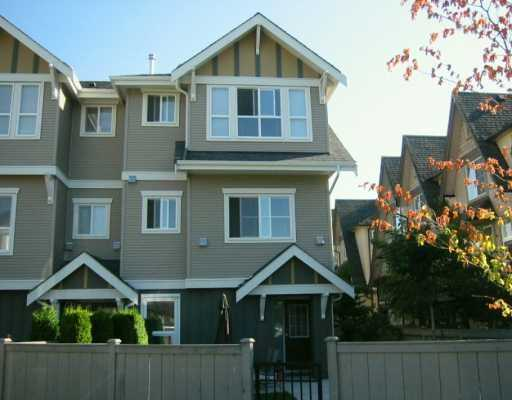 "Main Photo: 7833 HEATHER Street in Richmond: McLennan North Townhouse for sale in ""Belmont"" : MLS® # V629931"