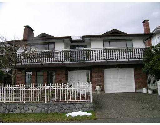 Main Photo: 4021 FRANCES Street in Burnaby: Vancouver Heights House for sale (Burnaby North)  : MLS(r) # V687539