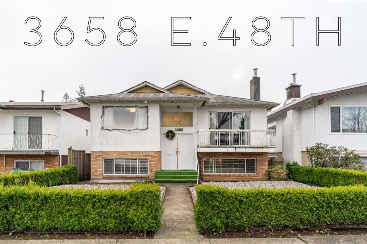 FEATURED LISTING: 3658 48TH Avenue East Vancouver