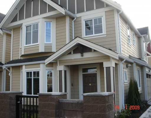 "Main Photo: 6 5280 Williams Road in Richmond: Steveston North Townhouse for sale in ""Holly Vistas"" : MLS® # V778234"
