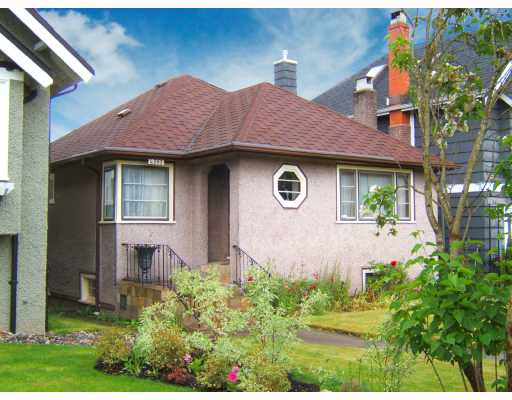 "Main Photo: 4563 W 12TH Avenue in Vancouver: Point Grey House for sale in ""POINT GREY"" (Vancouver West)  : MLS® # V714960"