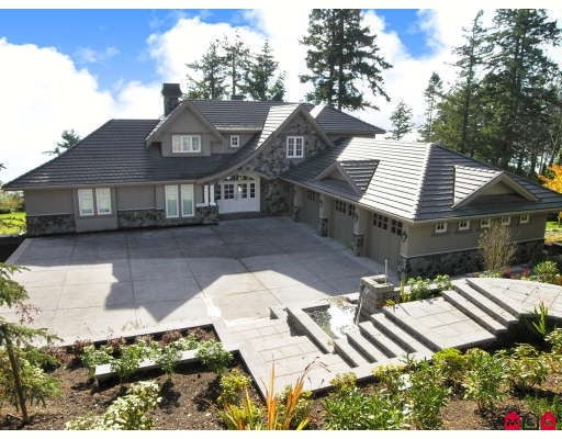 Main Photo: Ocean Front Estate Home - 12990 13TH AV in White Rock: House for sale : MLS® # Ocean Front Estate Home