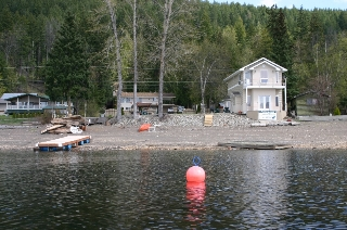 Main Photo: 2022 Eagle Bay Road in Blind Bay: Waterfront Residential Detached for sale : MLS(r) # 9166301