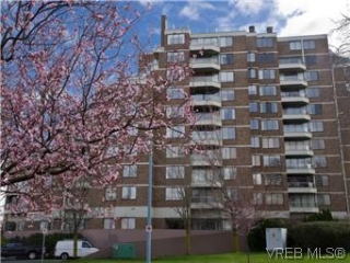 Main Photo: 1005 225 Belleville Street in VICTORIA: Vi James Bay Condo Apartment for sale (Victoria)  : MLS®# 290487