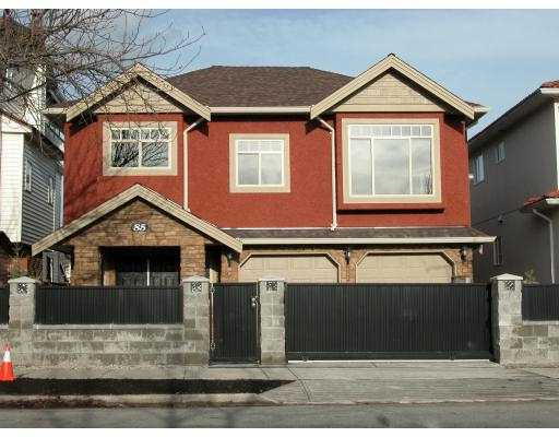 Main Photo: 85 E 49TH Avenue in Vancouver: Main House for sale (Vancouver East)  : MLS® # V681217