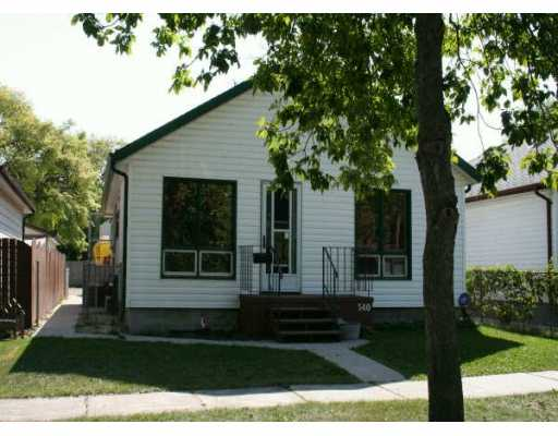 Main Photo: 540 PROSPER Street in Winnipeg: St Boniface Single Family Detached for sale (South East Winnipeg)  : MLS(r) # 2615652