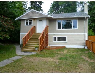 Main Photo: 3696 Hoskins Road in North Vancouver: Lynn Valley House  : MLS(r) # V773705