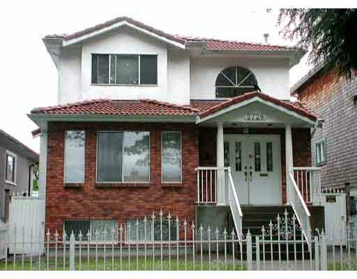 Main Photo: 2728 ETON Street in Vancouver: Hastings East House for sale (Vancouver East)  : MLS® # V662013