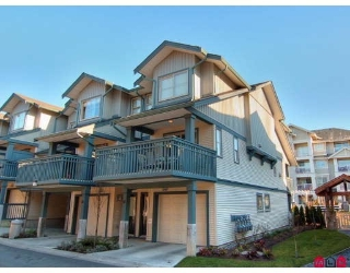 "Main Photo: 61 19250 65TH Avenue in Surrey: Clayton Townhouse for sale in ""SUNBERRY COURT"" (Cloverdale)  : MLS® # F2806511"