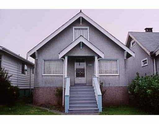 Main Photo: 1325 RENFREW ST in Vancouver: Renfrew VE House for sale (Vancouver East)  : MLS(r) # V575684