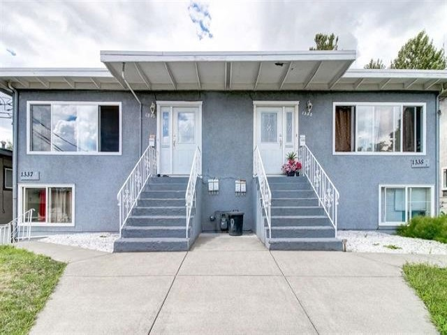 FEATURED LISTING: 1335 KAMLOOPS Street New Westminster