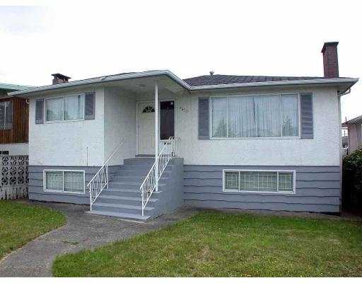 Main Photo: 1470 E 41ST ST in Vancouver: Knight House for sale (Vancouver East)  : MLS®# V545130