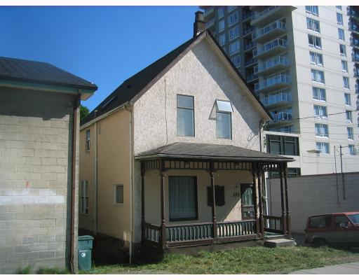 Main Photo: 520 CARNARVON ST in New_Westminster: Downtown NW House for sale (New Westminster)  : MLS(r) # V777854