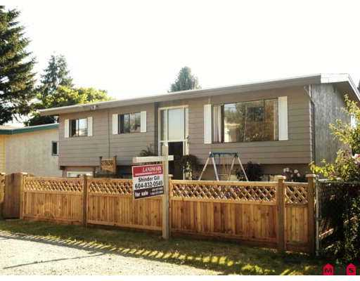 Main Photo: 2287 OTTER Street in Abbotsford: Abbotsford West House for sale : MLS®# F2717581