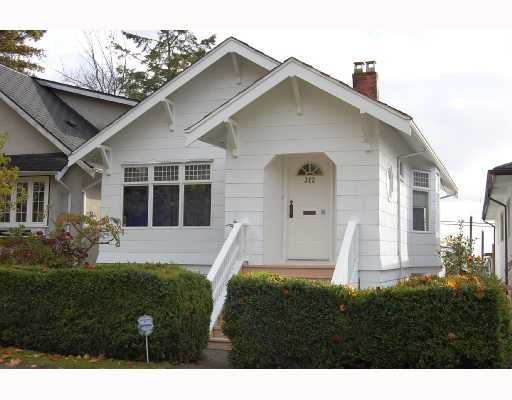 Main Photo: 312 E 45TH Avenue in Vancouver: Main House for sale (Vancouver East)  : MLS® # V677840