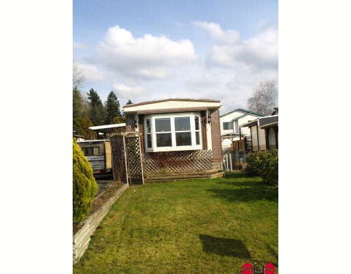 Main Photo: 1889 SHORE in Abbotsford: Central Abbotsford Manufactured Home for sale : MLS® # F2804923