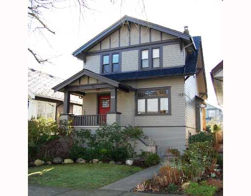 Main Photo: 948 W 20TH Avenue in Vancouver: Cambie House for sale (Vancouver West)  : MLS®# V692133