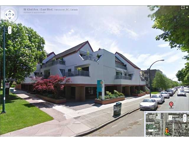 Main Photo: 302 5920 East Boulevard in Vancouver: Condo  : MLS®# V827279