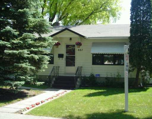 Main Photo: 887 STRATHCONA Street in Winnipeg: West End / Wolseley Single Family Detached for sale (West Winnipeg)  : MLS®# 2610312