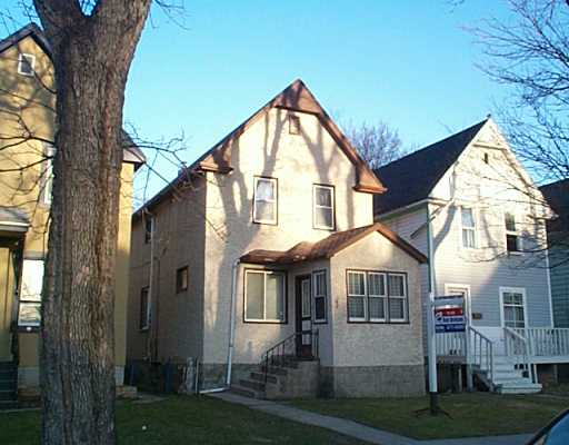 Main Photo: 348 TORONTO Street in Winnipeg: West End / Wolseley Single Family Detached for sale (West Winnipeg)  : MLS®# 2504851