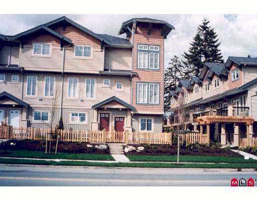 "Main Photo: 52 5839 PANORAMA Drive in Surrey: Sullivan Station Townhouse for sale in ""Forest Gate"" : MLS®# F2710483"